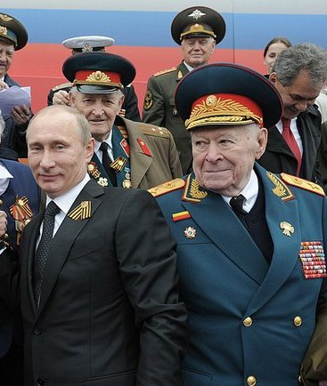 Путин В.В. и генерал армии Бобков Ф.Д.